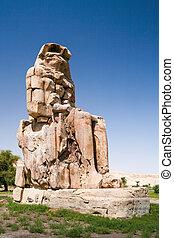 Colossus of Memnon, Egypt
