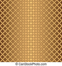 Bronze abstract seamless pattern (vector)