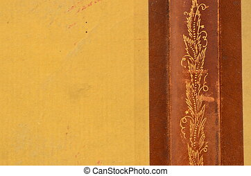 Årgång, bok, baksida