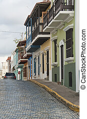 Puerto Rico, Caribbean Islands - San Juan, the Capital of...