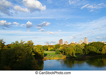 Afternoon on top of the Belvedere castle - The great lawn...