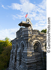 Belvedere castle - The belvedere castle is located in the...