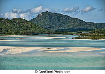 Whitsunday Islands National Park, Australia - View of the...