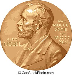 Nobel Prize - Vector illustration.