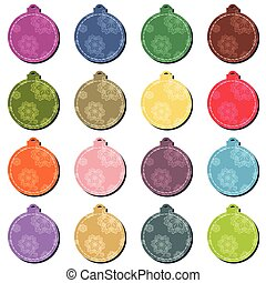 Christmas decor balls
