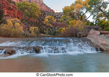 Virgin River in Fall