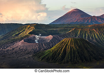 Volcanoes of Indonesia - Group of volcanoes in the National...