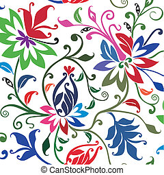 Vector floral background.