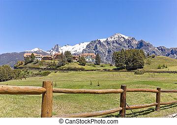 Llao Llao. Hotel resort in the mountains. - Llao llao...