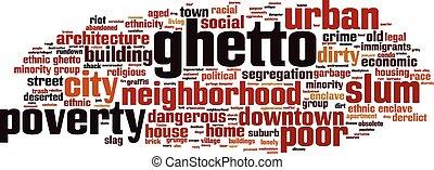 Ghetto-horizon Convertedeps - Ghetto word cloud concept...