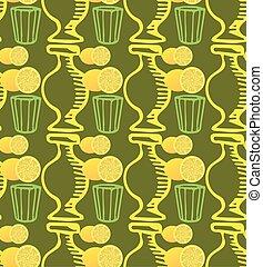 pattern Doodle lemon