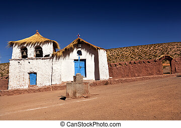 Machuca - Colonial Church North of Chile