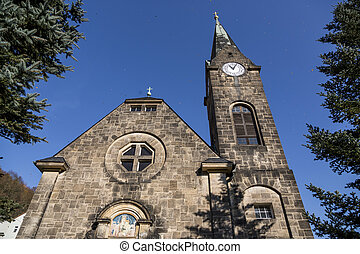 Kirche zu Königstein, Germany - Kirche zu Konigstein,...