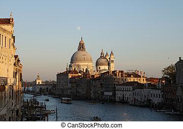 Grand Canal de Venecia - Tarde en el Gran Canal