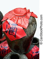 chinese White wine jars