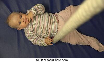 11 Months Old Baby Sport Time Activity