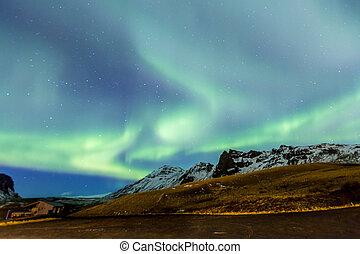 Northern Light Aurora Iceland - Northern Light Aurora...