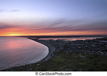 Chesil beach - Chesil Beach Sunset