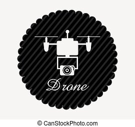 drone technology design - drone technology design, vector...