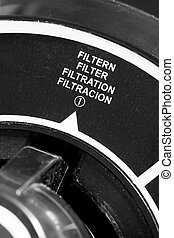 agua, filtración, Sistema