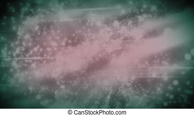 Cosmic abstract in soft pale colors - Looping cosmic...