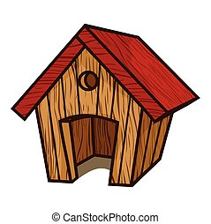 Dog House - Vector illustrations of the Dog House