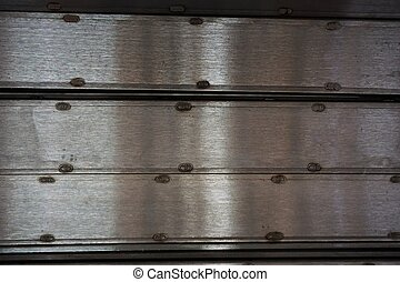 line up metal plate - abstract of line up metal plate for...