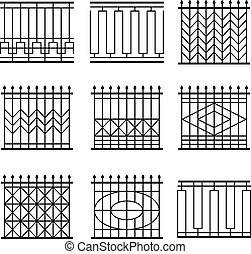fences set
