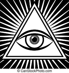 vector third eye sign