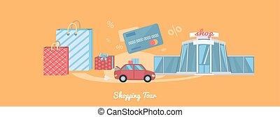 Shopping Tour Concept
