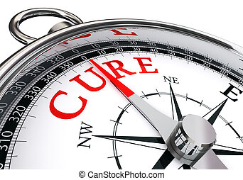 cure red word on conceptual compass