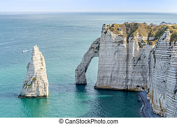 The Needle and the Porte d'Aval-Etretat