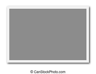 Frame for photo collage - A blank frame ready to insert a...