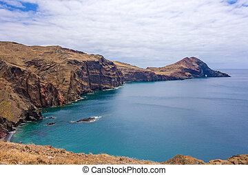 Rock gate Ponta do Furado - View of rock gate Ponta do...