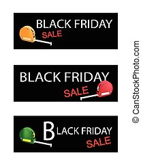 Tape Measure on Black Friday Sale Banners - Illustration of...
