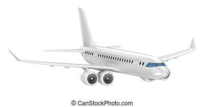 Passenger airliner. My own design.