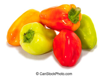 mage of ripe bell peppers - a Image of ripe bell peppers on...