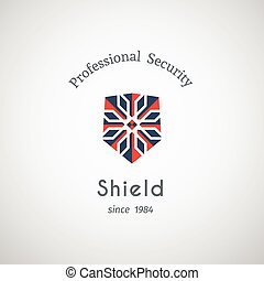 Shield Security Vector Logo - Shield security logo design...