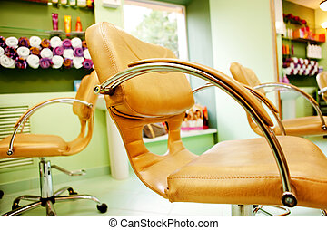 Interior of Beauty Salon