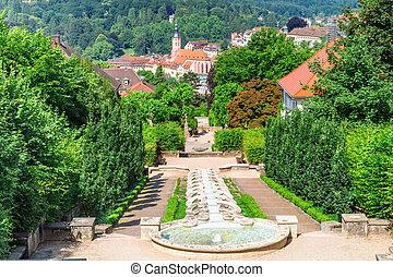 Cascade Fountain quot;Water Paradisequot; in Baden-Baden...