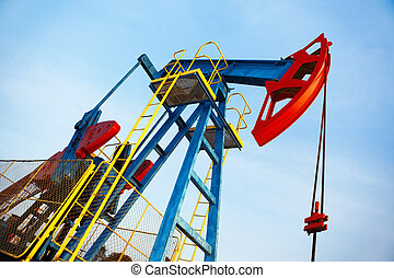 old oil pump jack