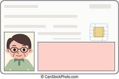 Identification - Vector illustration.
