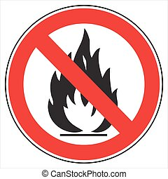 no fire! - No fire sign