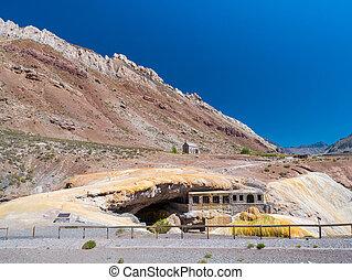 Puente del Inca, The Incas Bridge - Puente del Inca Spanish...