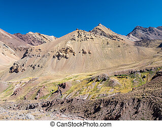 Colorful Montain near the Aconcagua - A trekking trip to the...