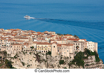 Tropea in the Calabria region of Southern Italy