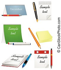 Office supplies set
