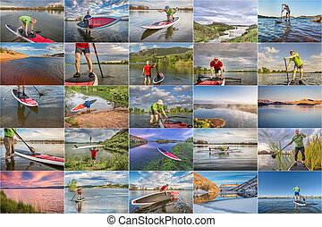 sup paddling (SUP) in Colorado