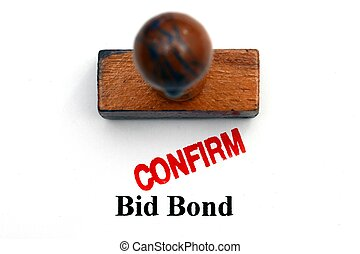 Bid bond confirm