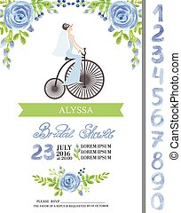 Wedding bridal shower card - Wedding bridal shower...